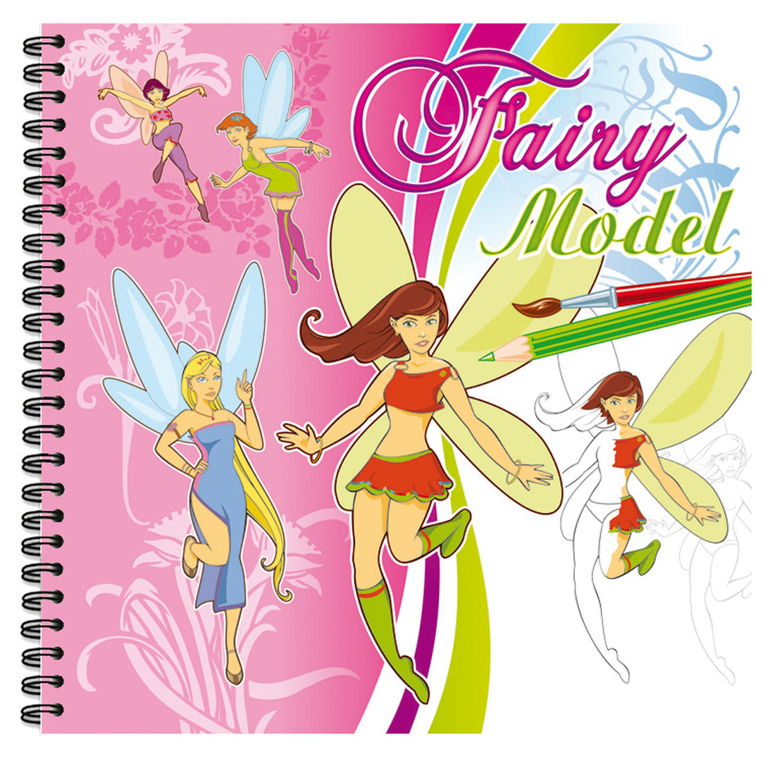Cahier de dessin creativ model fairy clairefontaine - Cahier top model dessin ...