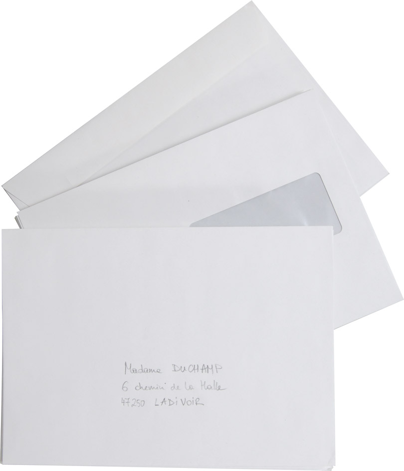 Enveloppes recycl es blanches c5 fen tre forever for Enveloppes a fenetre