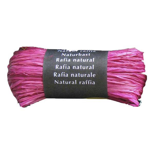 Raphia naturel rose Maildor