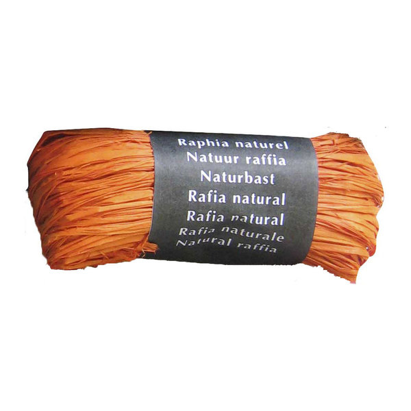 Raphia naturel orange Maildor