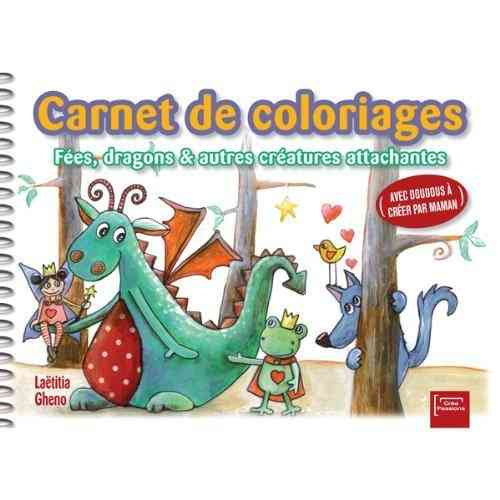 carnet de coloriage et de creation