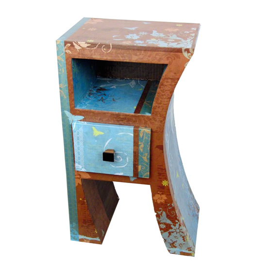 cr er ses meubles en carton coffret cadeau h1 hoscar mille et une feuilles. Black Bedroom Furniture Sets. Home Design Ideas