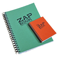 Demi Zap book Clairefontaine A5 spiralé