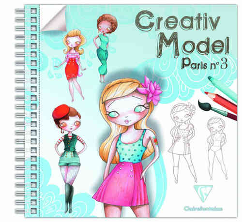 Creativ Model Paris n°3 Clairefontaine