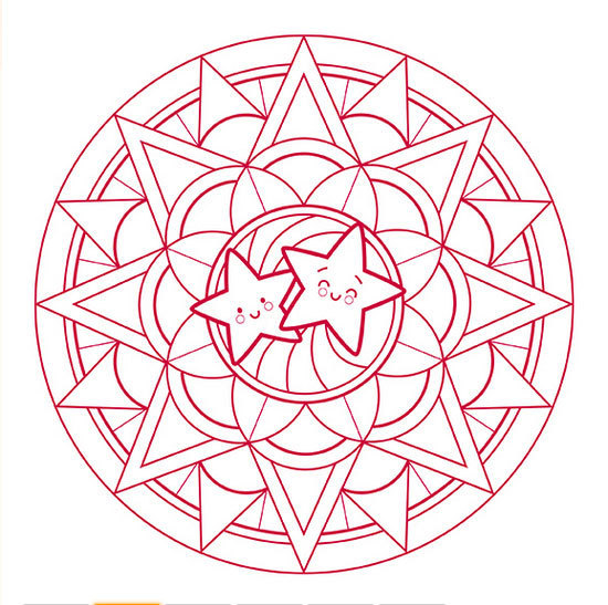 Cahier de coloriage mandala no l graffy pop avenue - Coloriage mandala noel ...