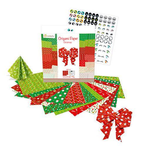 Origami papier noel 2 avenue mandarine mille et une feuilles - Papier origami noel ...