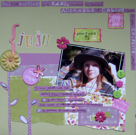 Concours Scrap Pitchoun 2008 Justine G.
