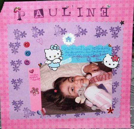 Concours Scrap Pitchoun 2008 Pauline H.