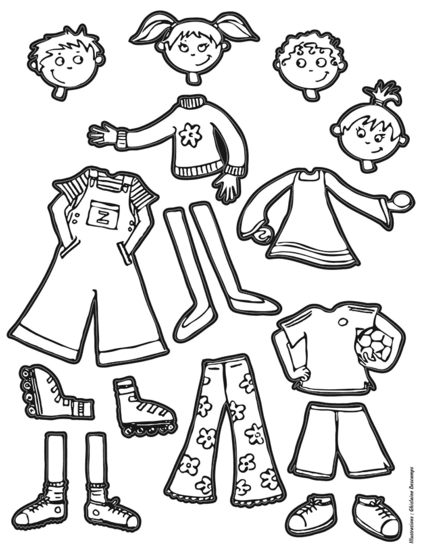 Gommettes autocollantes Garçons et Filles à colorier - Mille et Une Feuilles