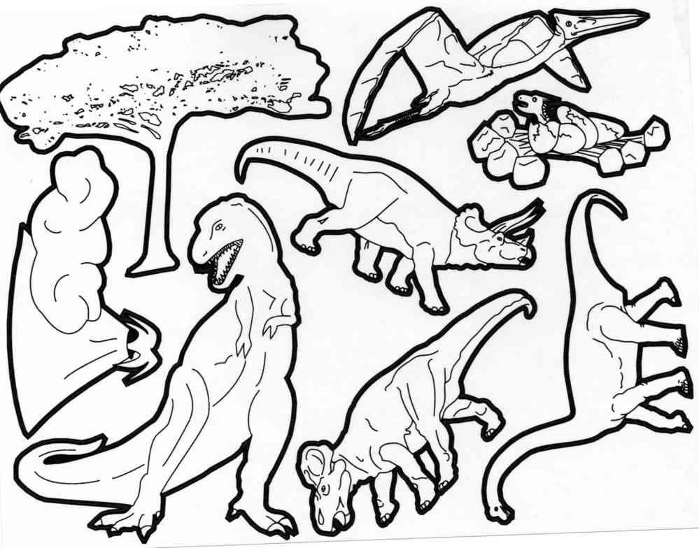 Coloriage Code Dinosaure.Gommettes Autocollantes Dinosaures A Colorier