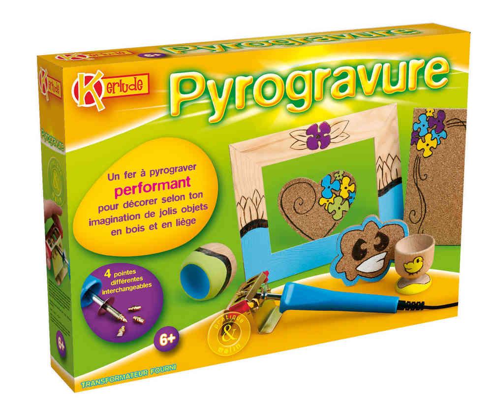 Kit Créatif Pyrogravure Kerlude
