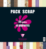 Pack Papier Scrapbooking Clairefontaine