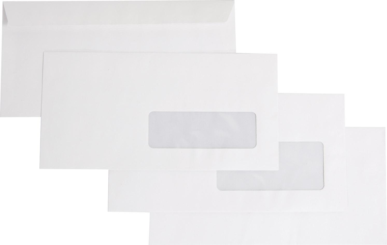 Enveloppes Recyclées Blanches Dl à Fenêtre 35100 Forever