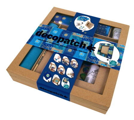 Kit d'initiation Decopatch Cadre carré plat