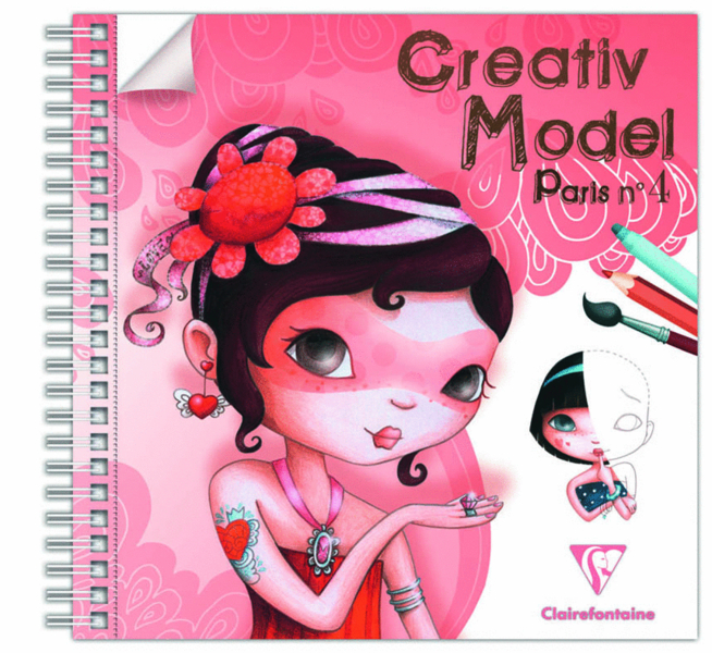 Creativ Model Paris n°4 Clairefontaine