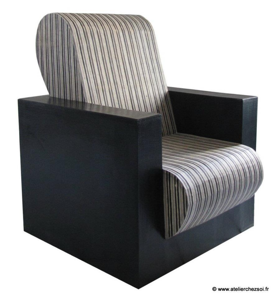 patron de fauteuil en carton adulte hadam mille et une. Black Bedroom Furniture Sets. Home Design Ideas
