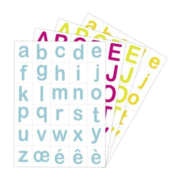 Gommettes Baby Lettres Maildor