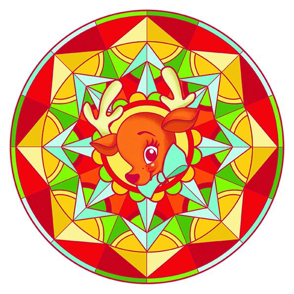 Coloriage Mandala Couleur.Cahier De Coloriage Mandala Noel Graffy Pop Avenue Mandarine Mille
