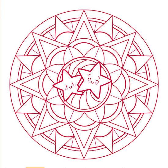 Coloriage Mandala Noel En Ligne.Cahier De Coloriage Mandala Noel Graffy Pop Avenue Mandarine Mille