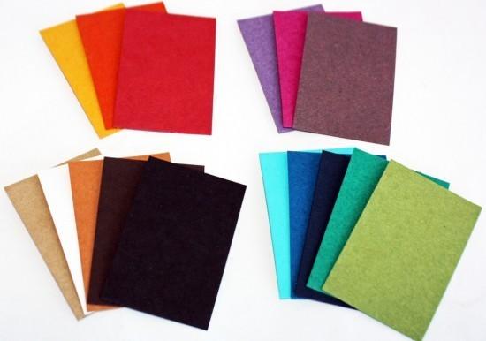 Papier Cartonné Rouge Natural A4 325g 10 Feuilles Mille Et Une