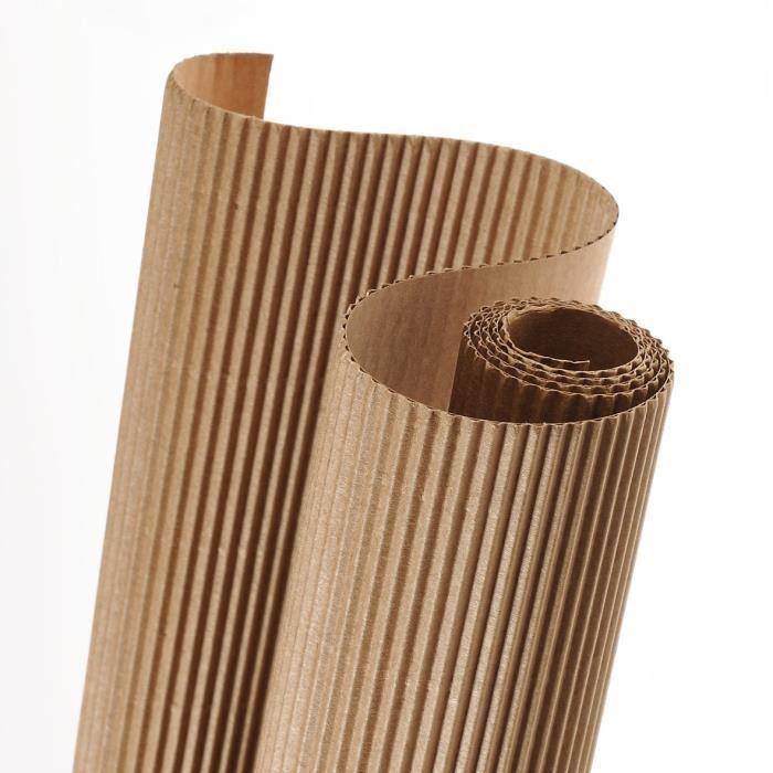 carton ondul rouleau 1500mm x mille et une feuilles. Black Bedroom Furniture Sets. Home Design Ideas